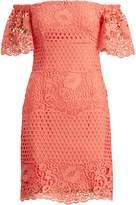 Lauren Ralph Lauren Ralph Lauren Lace Off-the-Shoulder Dress