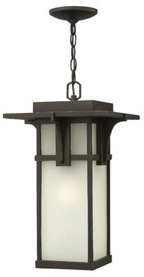 Manhattan 1-Light Outdoor Hanging Lantern Hinkley Bulb Type: 100W Max Medium Incandescent