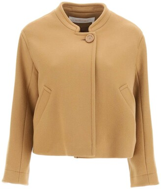 See By Chloe Buttoned Cropped Jacket