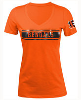 5th & Ocean Women's Cincinnati Bengals Touchback LE T-Shirt