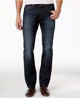 Hudson Men's Byron Straight-Fit Dark-Wash Jeans