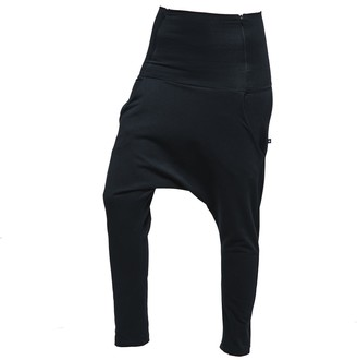 Non+ Non218 Black Baggy Pants With Two Zippers
