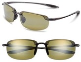Maui Jim Women's 'Ho'Okipa - Polarizedplus2' 64Mm Reader Sunglasses - Smoke Grey/ Maui