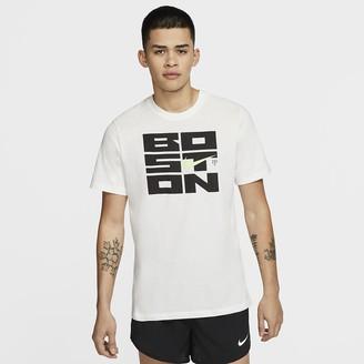 Nike Men's Running T-Shirt Dri-FIT Boston