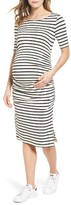 Isabella Oliver Women's Nia Off The Shoulder Maternity Top