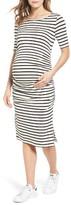 Isabella Oliver Women's Nia Stripe Maternity Dress
