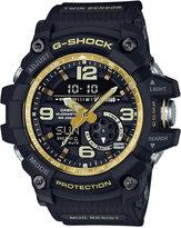 G-Shock Men's Analog-Digital Mudmaster Vintage Gold Black Resin Strap Watch 55x56mm GG1000GB-1A