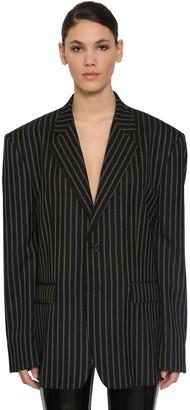 Maison Margiela Striped Wool Jacket