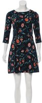 Suno Floral Print Silk Dress w/ Tags