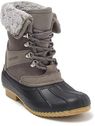 Tommy Hilfiger Rusteen Faux Fur Lined Duck Boot