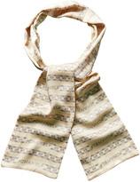Chanel Cream Chain Silk Long Scarf