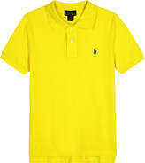 Ralph Lauren Cotton short-sleeved polo 2-7 years