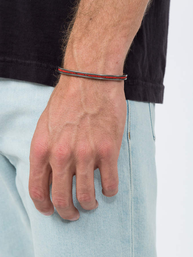 M. Cohen Red cuff bracelet