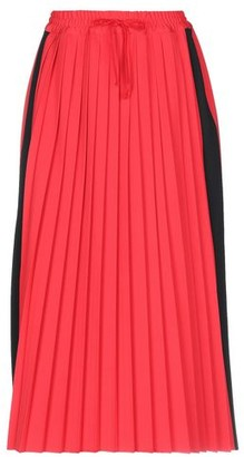 Hache 3/4 length skirt