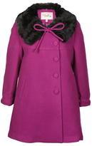 Darling Vanessa Fur Collar Coat