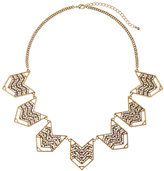 Catherine Stein Gold-Tone Accented Necklace