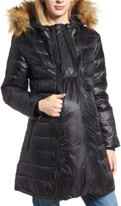 Modern Eternity Quilted 3-in-1 Maternity/Nursing Parka