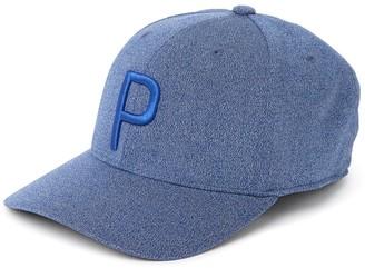 Puma Dark Blue P 110 Snapback Cap