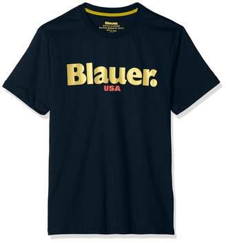 Blauer Men's T-Shirt Manica Corta Kniited Tank Top