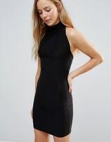 Daisy Street High Neck Body-Conscious Dress