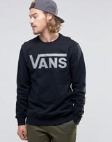 Vans Classic Crew Sweatshirt In Black V00yx0d7i