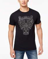 Sean John Men's Alpha Tiger Rhinestone T-Shirt