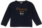 Emile et Ida Hand Embroidered Peace Jumper