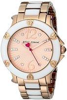 Betsey Johnson Women's BJ00459-05 Analog Display Quartz Rose Gold Watch