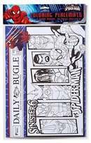 Marvel Spider-Man Disposable Coloring Placemats - 24ct