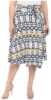 Rachel Pally Plus Plus Size Mid-Length Wrap Skirt