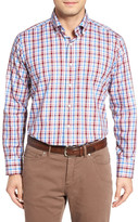 Peter Millar Sonoma Regular Fit Plaid Sport Shirt
