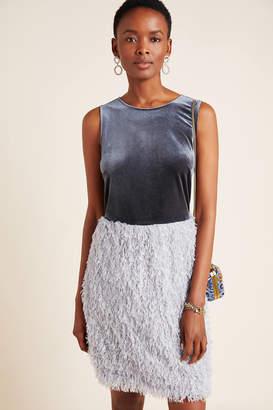 Sunday In Brooklyn Astor Feathered Mini Dress