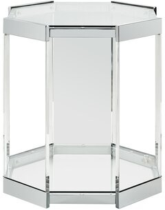 Glass Top Side Table Shop The World S Largest Collection Of Fashion Shopstyle