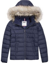 Tommy Jeans Hooded Coat