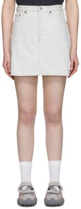 Acne Studios Blue Bla Konst Denim High-Rise Miniskirt