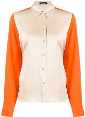 J. Lindeberg colour-block fitted shirt