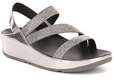 FitFlop Crystal Z-Strap Sandals