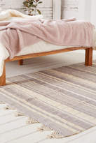 Urban Outfitters Anza Knotted Trim Dye-Stripe Rug