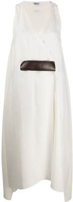 Brunello Cucinelli Flared Wrap Dress