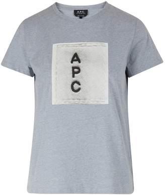 A.P.C. Logo F t-shirt
