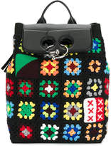 J.W.Anderson crochet backpack