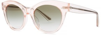 Oliver Peoples X The Row Georgica Pink Sunglasses