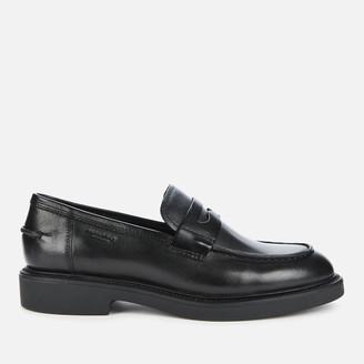 Vagabond Women's Alex W Leather Loafers - Black