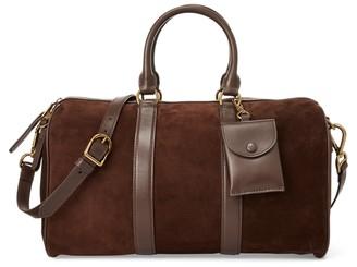 Ralph Lauren Suede Camden Duffle Bag