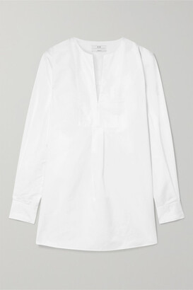 Co Cotton-poplin Tunic - White
