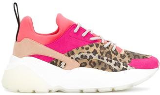Stella McCartney Eclypse leopard-print sneakers