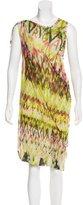 Jean Paul Gaultier Printed Sheath Dress