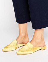 Asos LASHES Square Toe Ballet Mules