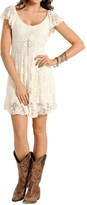 Panhandle Slim Red Label Stretch Lace Dress - Short Sleeve (For Women)