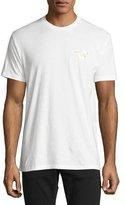 True Religion Metallic Buddha T-Shirt, White